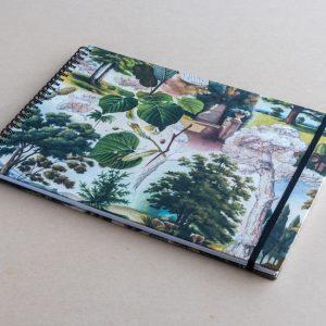 A4 sketchbook – trees – bomo