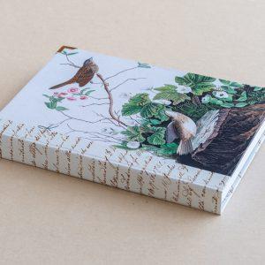 A5 jotter – birds – log