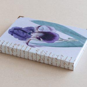 A5 jotter –  iris – blue