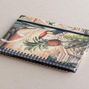 A5 notebook – animals – bomo