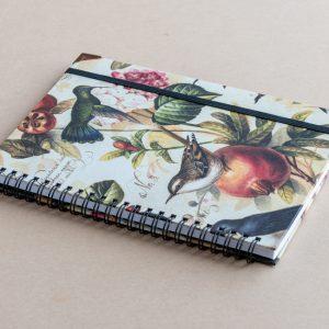 A5 notebook – birds – bomo