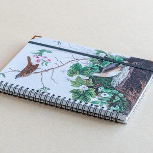 A5 notebook – birds – log