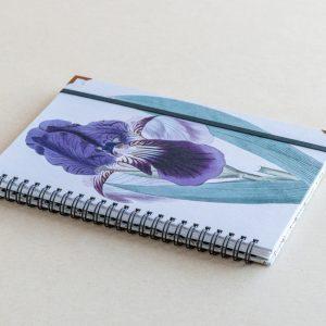 A5 notebook – blue iris