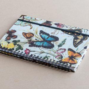 A5 notebook – butterflies – bomo