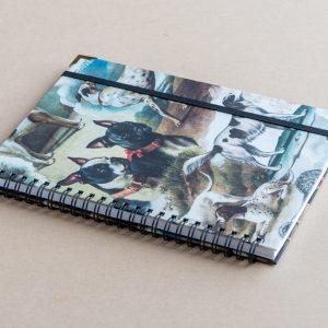 A5 notebook – dogs – bomo