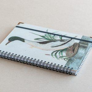 A5 notebook – duck