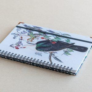 A5 notebook – pigeons