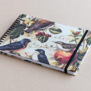 A5 sketchbook – birds – bomo