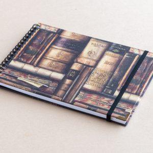 A5 sketchbook – books – bomo