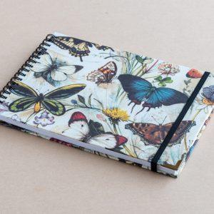 A4 sketchbook – butterflies –  bomo