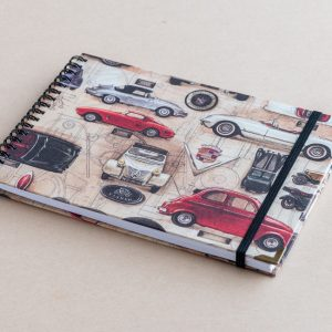 A5 sketchbook – cars – bomo