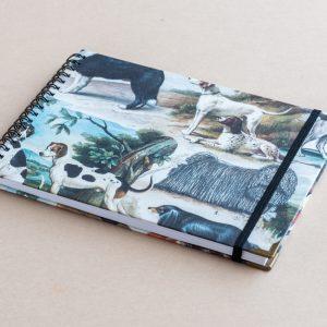 A5 sketchbook – dogs – bomo