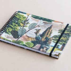 A5 sketchbook – trees – bomo