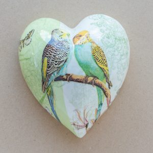 large heart – budgies