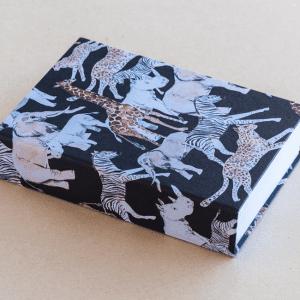 jotter pad – animals – black
