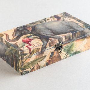 trinket – stationery box – animals – bomo