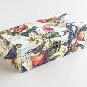 trinket – stationery box – birds – bomo