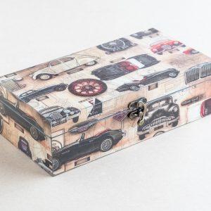 trinket – stationery box – cars – bomo
