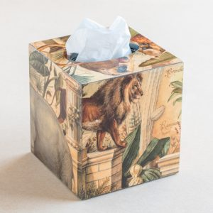 tissue box cover – animals – bomo