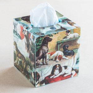 tissue box cover – dogs – bomo