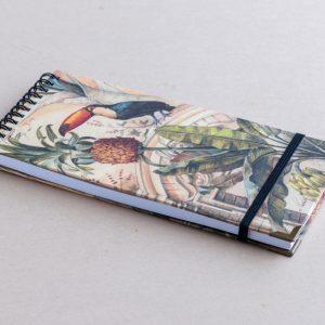 Slim notebook – animals – bomo