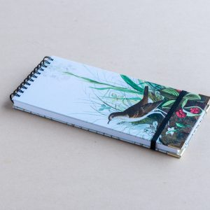 Slim notebook – bird berries
