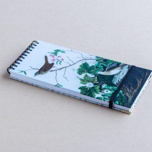 Slim notebook – birds log