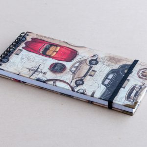 Slim notebook – cars – bomo