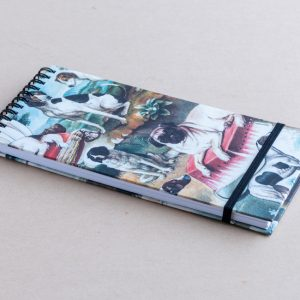 slim notebook – dogs – bomo
