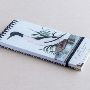 Slim notebook – duck