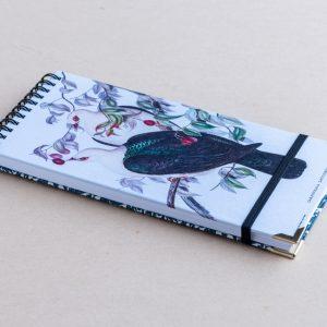 slim notebook – pigeons
