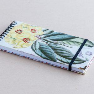 Slim notebook – yellow primrose