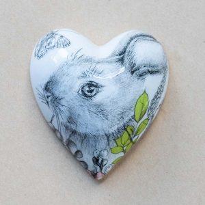 small heart – rabbit