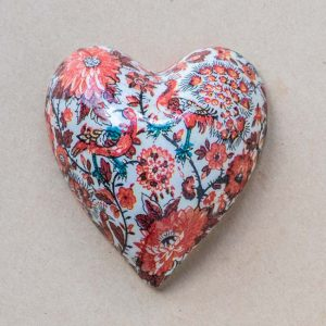 small heart – red  oriental birds