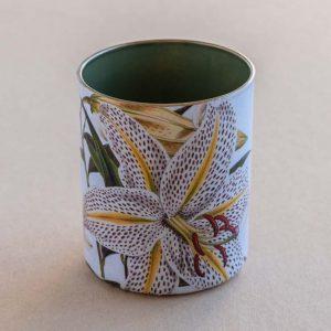desk pot – tiger lily