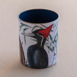 desk pot – woodpecker